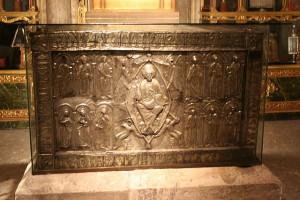 The ark that contains the Sudarium of Oviedo